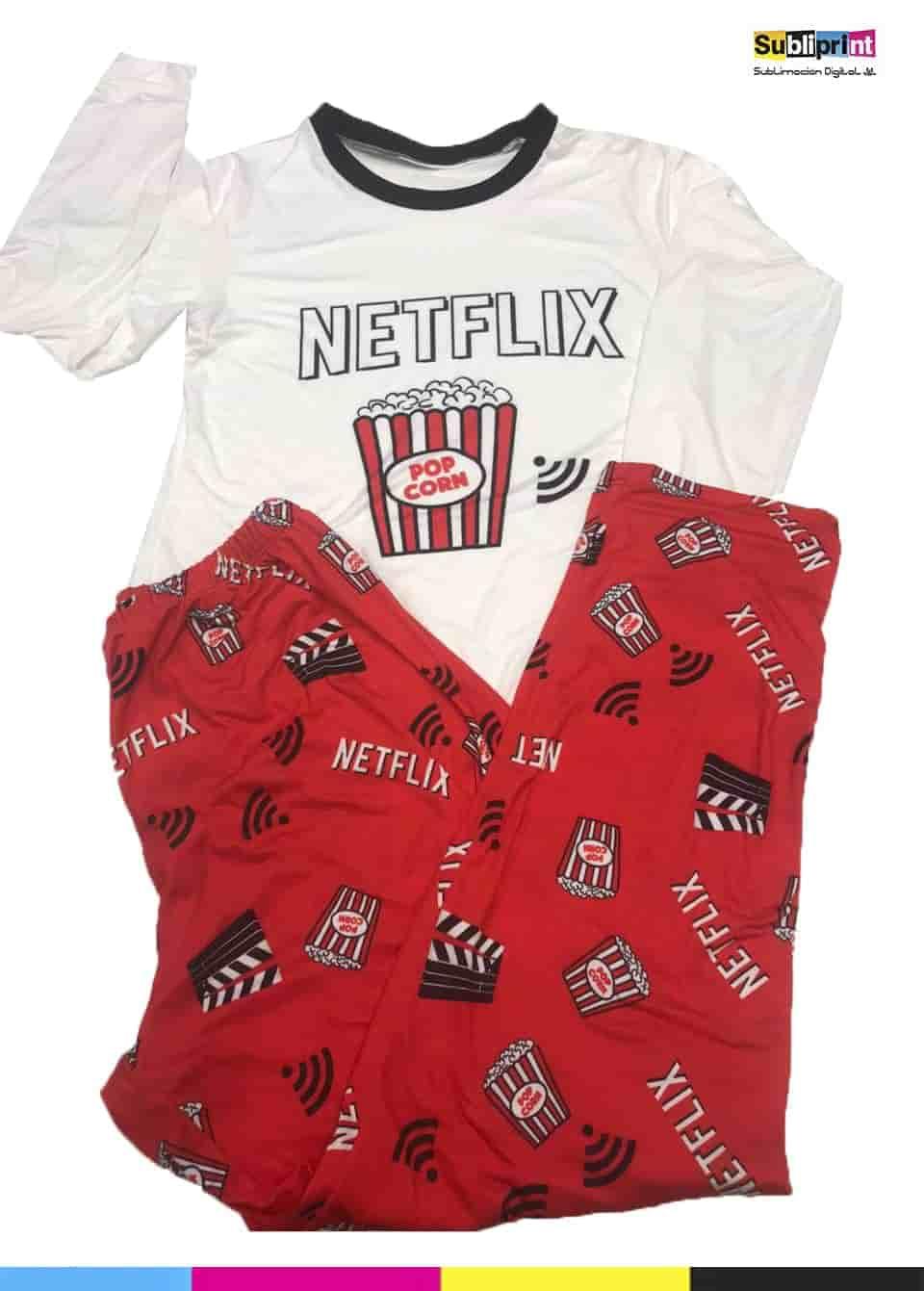 pijama sublimada de netflix
